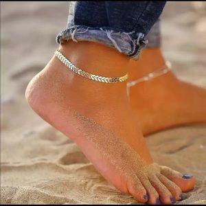 Jewelry - Gold Arrow Anklet
